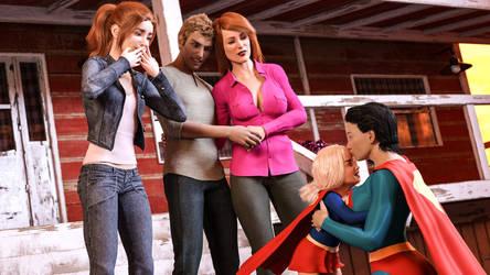 Clara Kara Meets Kent Family Home13 RustedPeace