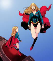 Comm Vhyrel Baby Sister Finds older Sis Supergirls