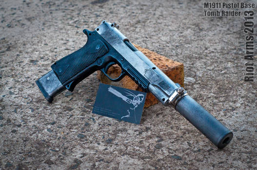 Riot Arms Commission #1: Tomb Raider 2013 m1911