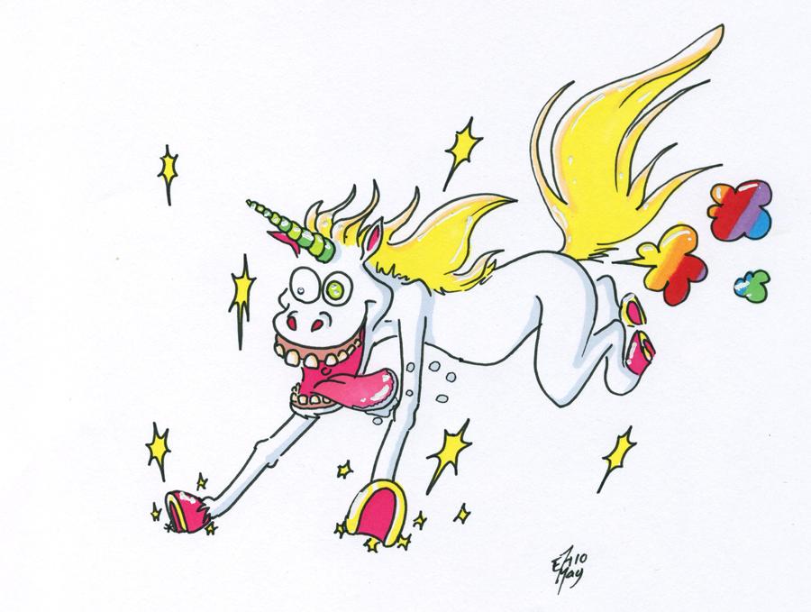 Cacahuete ♦ Venez si vous le voulez - Page 2 Unicorn_Rainbow_Fart_by_fuegokid