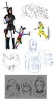 Deaths Doodles 3 by fuegokid