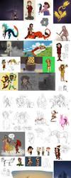 SH: Doodlepage 5 by fuegokid