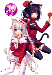 Render Neko Paradise Navidad by IzumiiNekO