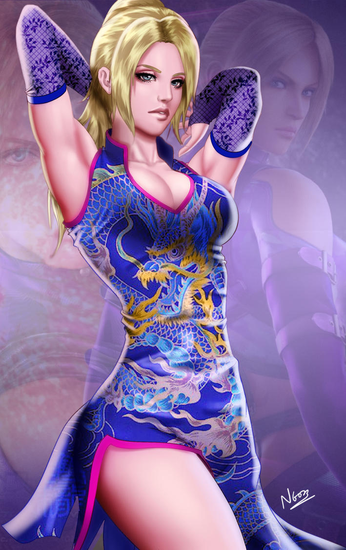 Nina Williams (Commission) by N6023