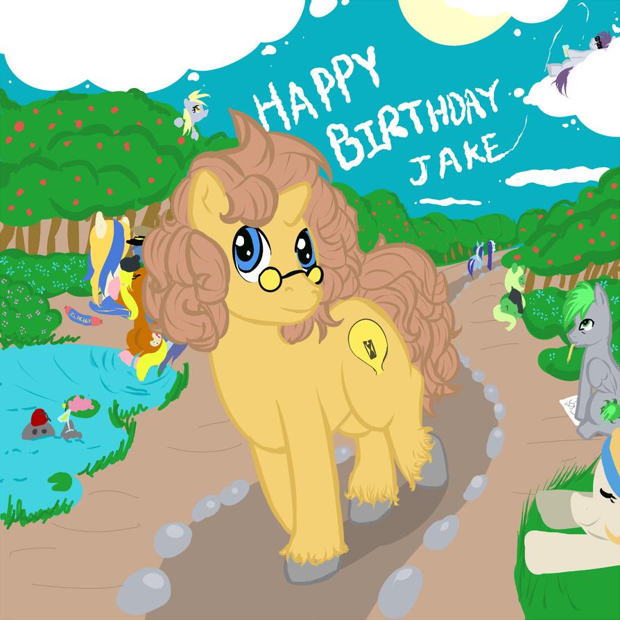 Jake Deserves Birthday Gifts!! By DeadGirlsLikeMe On