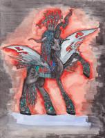 Queen Chrysalis: changelings are magic! by DeadGirlsLikeMe