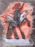 Queen Chrysalis: changelings are magic!