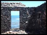 Porte sur la mer