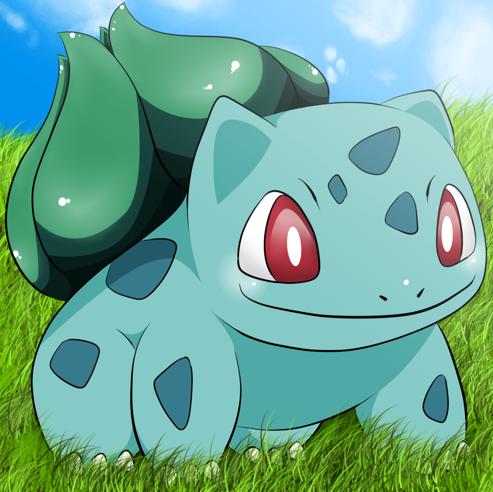 cute pokemon bulbasaur - photo #24