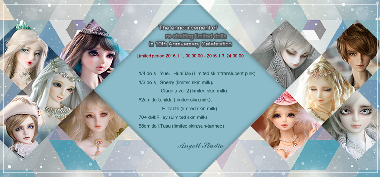 Apart of Limited dolls are coming ~^^~ by Angell-studio