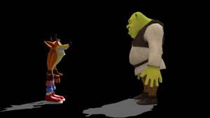 Crash meets Shrek