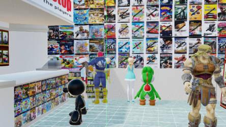 (MMD) Looking at Games