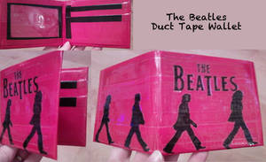 The Beatles Duct Tape Wallet by thejenty