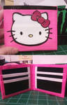 Duct Tape Wallet- Hello Kitty
