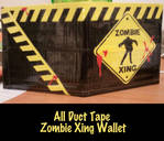 Duct Tape Zombie Xing Wallet