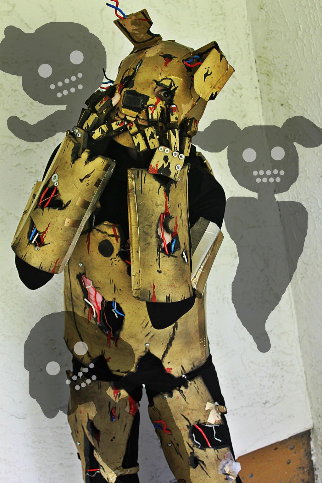 Goodnight springtrap fnaf 3 springtrap cosplay by fandomartistalley