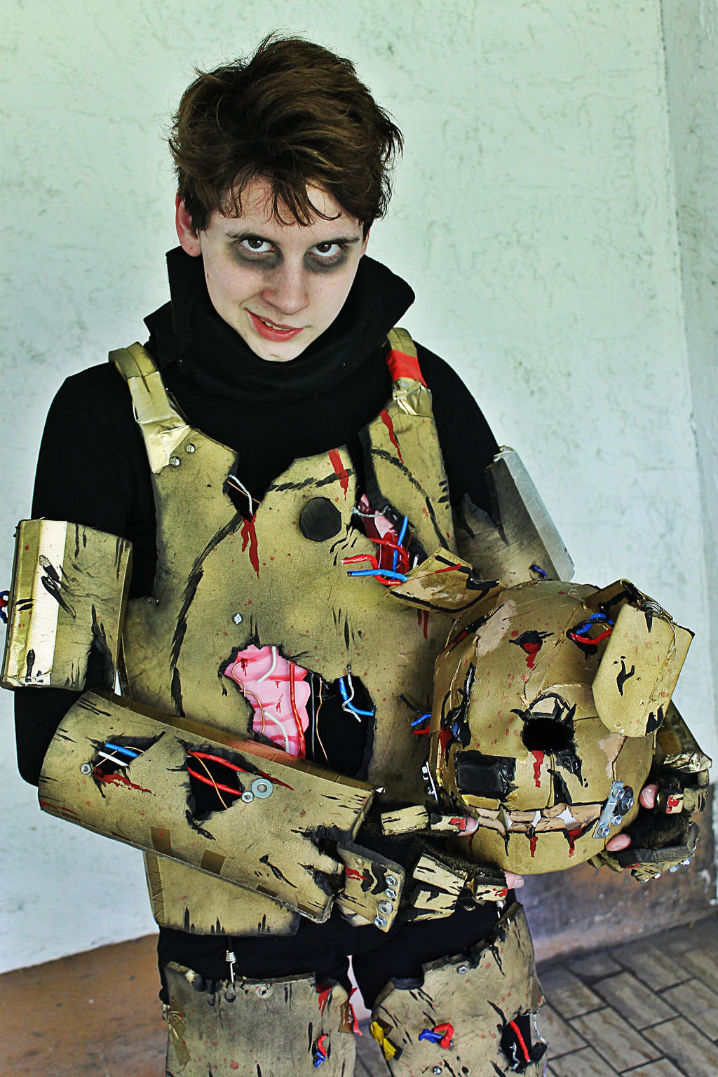 Fnaf 3 springtrap cosplay by fandomartistalley on deviantart