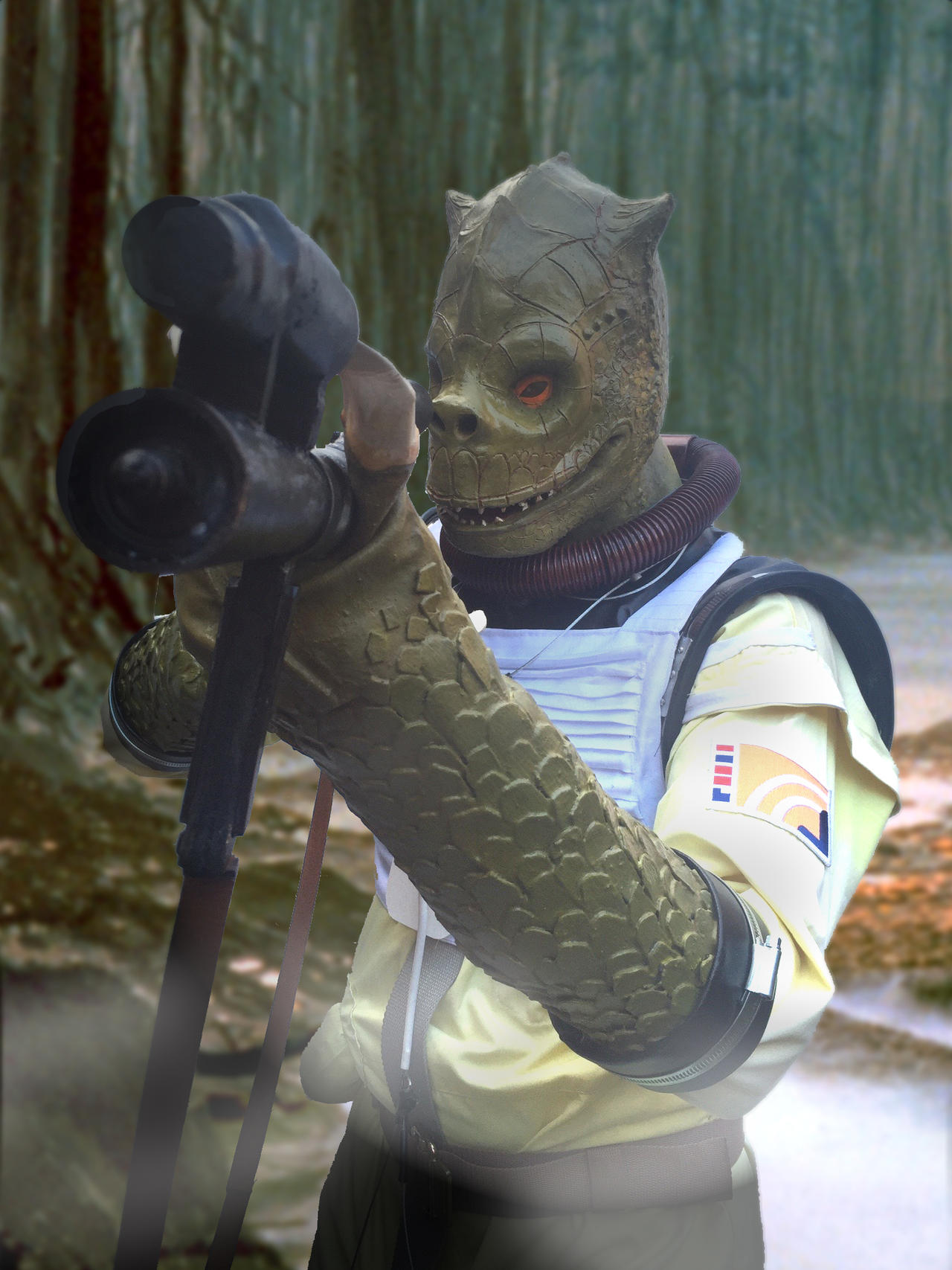 Bossk Costume In The Woods By Stew750 On Deviantart