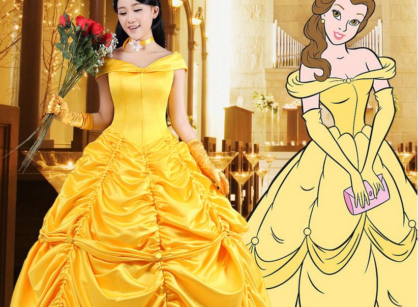 Платье красавица и чудовище своими руками