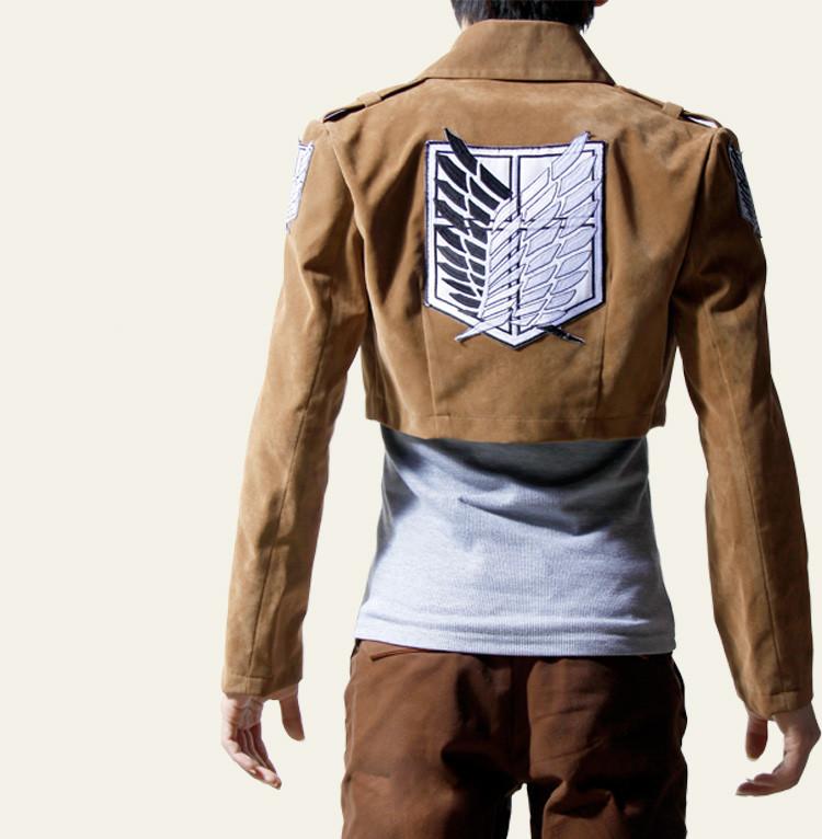 attack titan jacket scouting legion logo cospl by. Black Bedroom Furniture Sets. Home Design Ideas