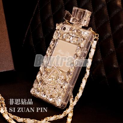 wholesale dealer 558e7 a26ac white diamond iphone 5 case Chanel perfume bottles by ...
