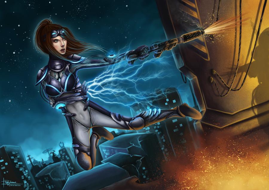 Starcraft 2: Ghost vs Spectre by Tabnir on DeviantArt
