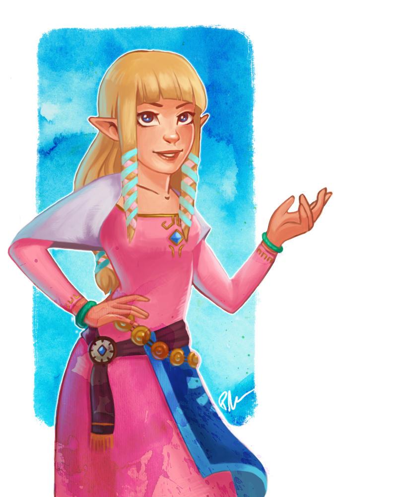 Zelda - Skyward Sword by PetraImboden