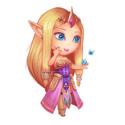 Little Zelda by PetraImboden