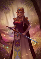 Princess Zelda by PetraImboden