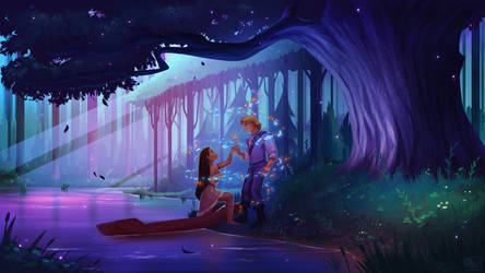 Pocahontas - Scenery