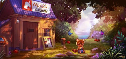 Nook's Cranny - Animal Crossing New Horizons