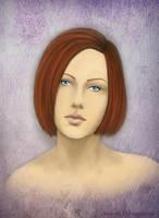 Dragon age Leliana Portrait by Aztarieth