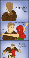 Dragon age: Alistair Marry me