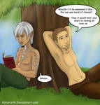 Dragon age Fenris and Alistair