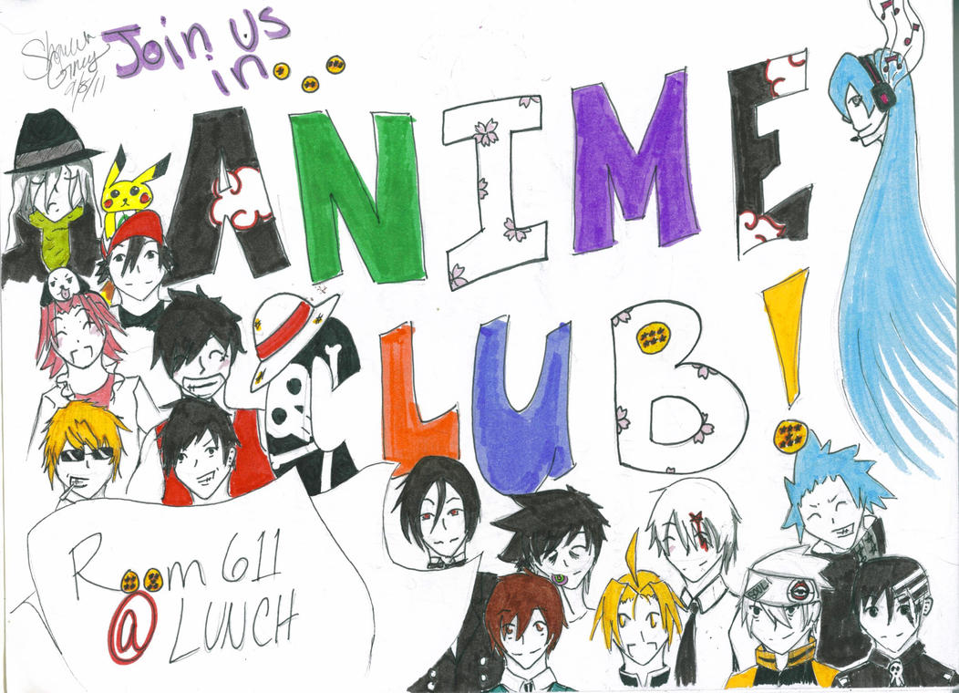 Club Poster by Gaarakun445