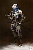 Snow Assassin Cyborg
