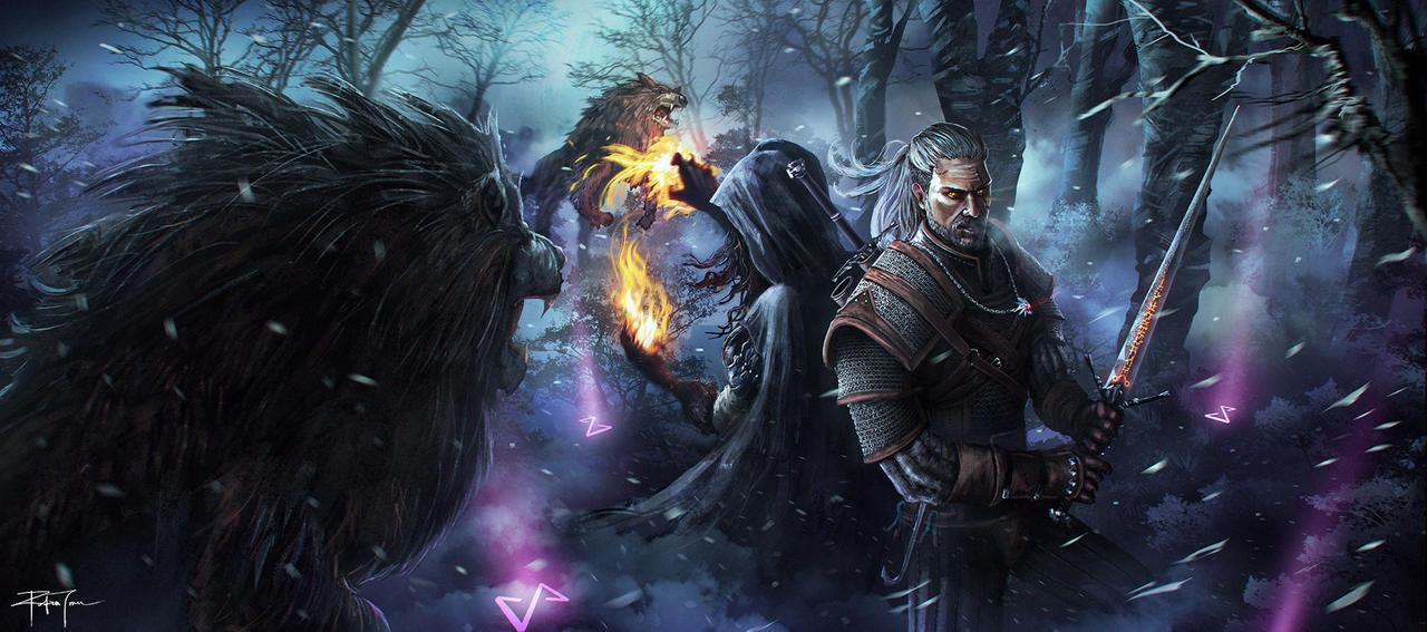 The Witcher 3 Fanart By RobinTran On DeviantArt