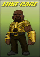 Luke Cage Dwarf by MarkDobson