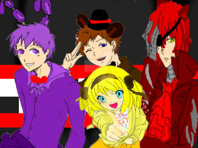 Five Nights With Anime By Loxto