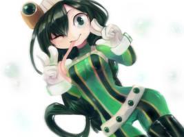 Tsuyu-chan by nynphie