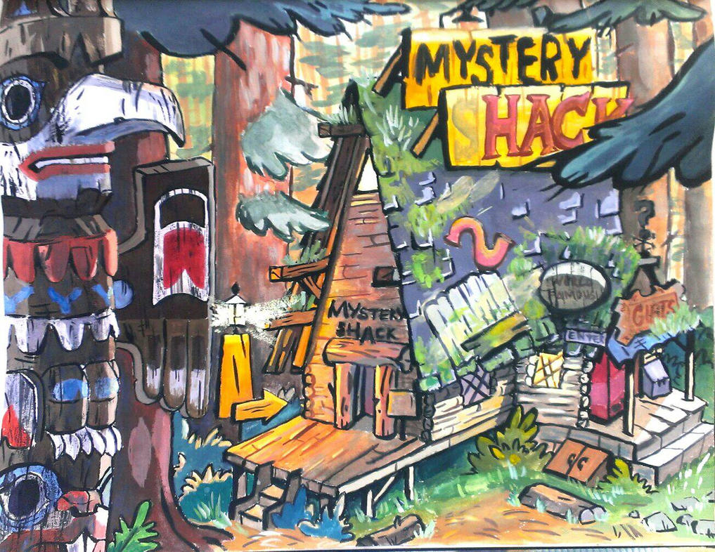Mystery Shack by Spirit-Aisling