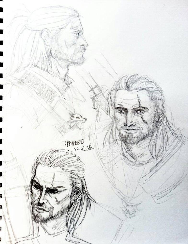 Geralt by Spirit-Aisling