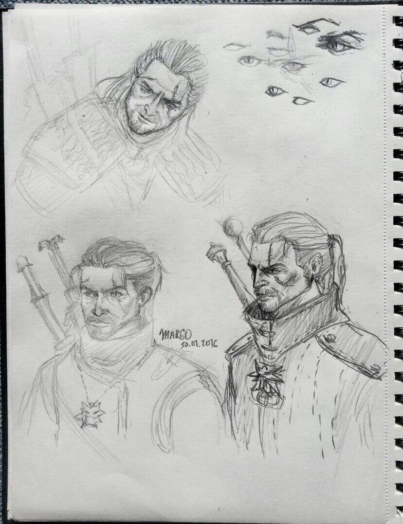 Geralt 2 by Spirit-Aisling
