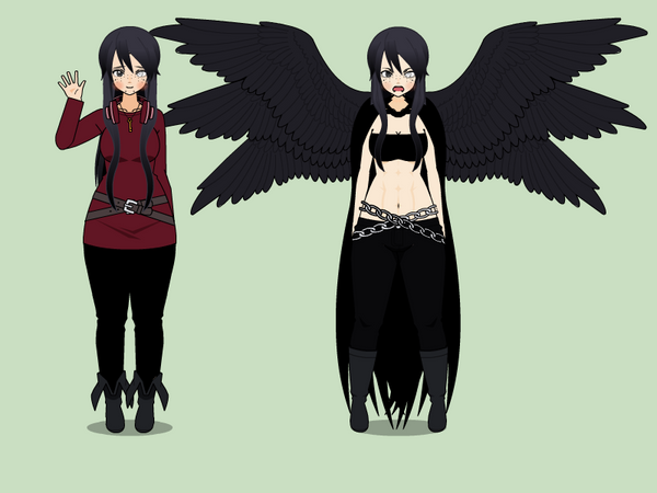 Yukine  {Character reference} by SabrinaAlbarn