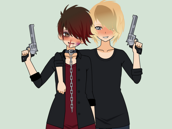 Guns, Bruises, and Hybristophilia by SabrinaAlbarn