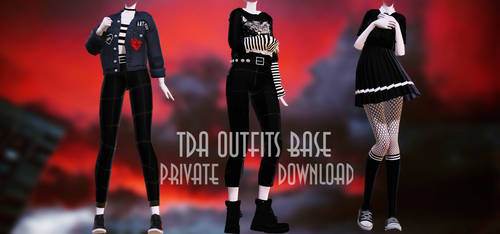 TDA Outfits base [+PRIVATE DL]