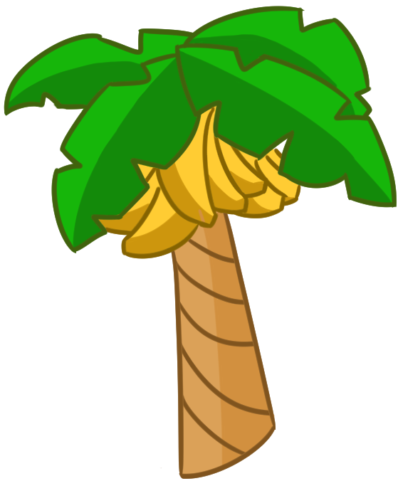how to draw banana tree