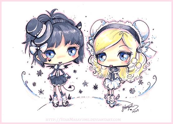 Ladies of Snowflakes by StarMasayume