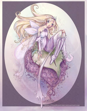 Fairy Throne in Lilac