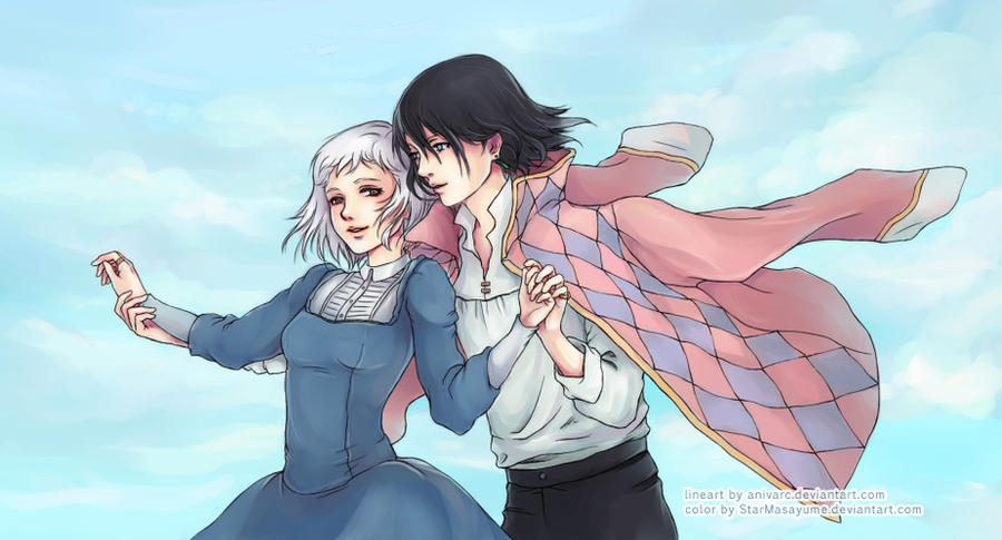 Stroll Through the Sky by StarMasayume